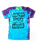 Happy Hour Block Logo Tie-Dye T-Shirt