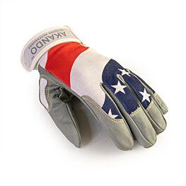Akando Ultimate Stars & Stripes Skydiving Gloves