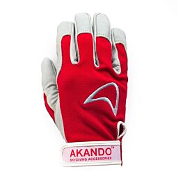 Akando Red Ultimate Skydiving Gloves