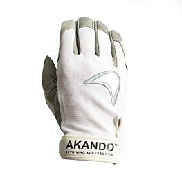 Akando White Ultimate Skydiving Gloves