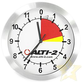 Alti-2 Altimaster Silver Wall Clock