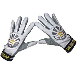 ChutingStar White Tackified Summer Skydiving Gloves
