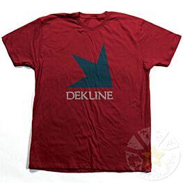 Dekline Stacked Cardinal Red T-Shirt