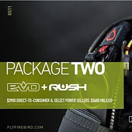 Firebird EVO Container + RUSH Reserve Skydiving Gear Package