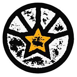 ChutingStar Original Star Logo Sticker