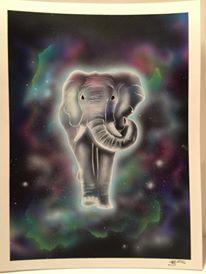"""""""Elephant Shaman"""" by Marissa Barclay."""