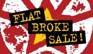 Flat Broke Sale at ChutingStar!
