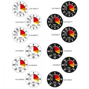 Stella Altimeter Faces Options