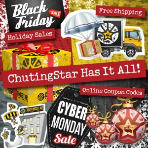 Holiday Sales 2016 at ChutingStar!